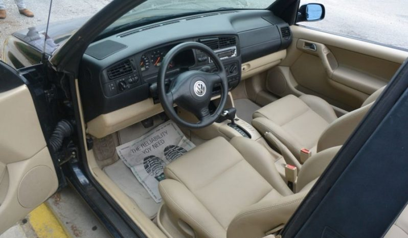 VW GOLF CABRIO AYTOMATIC, LEATHER '00 full